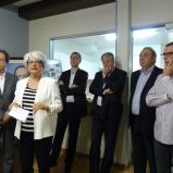 Inauguration local de Barlet (Condom).